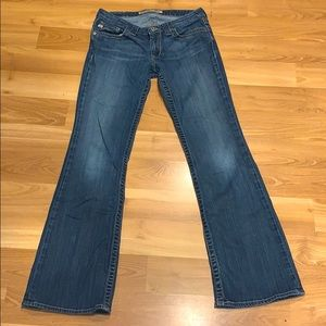 Big Star MADDIE mid-rise fit jeans size 27R GUC